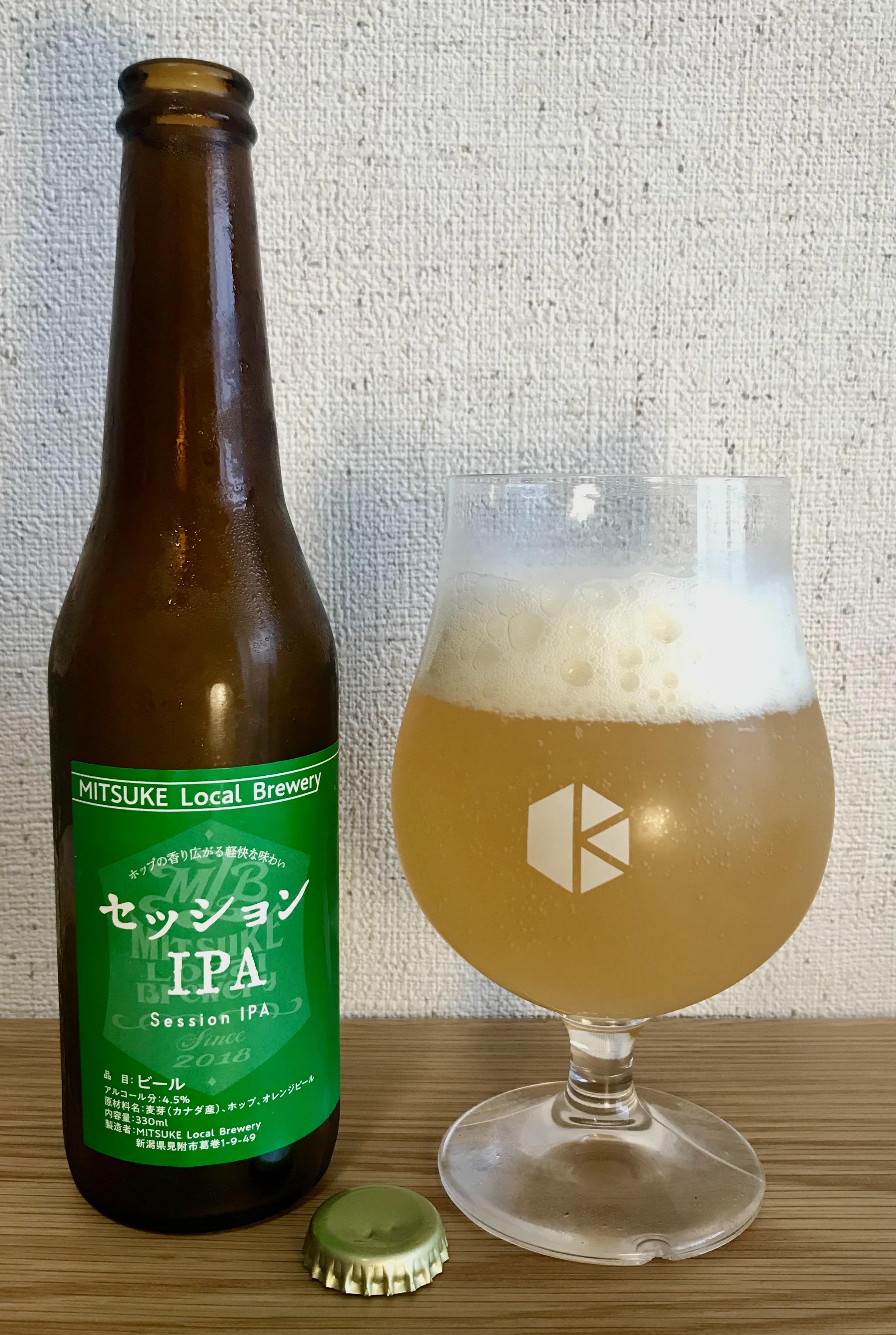 セッションIPA_MITSUKE Local Brewery_新潟_Image